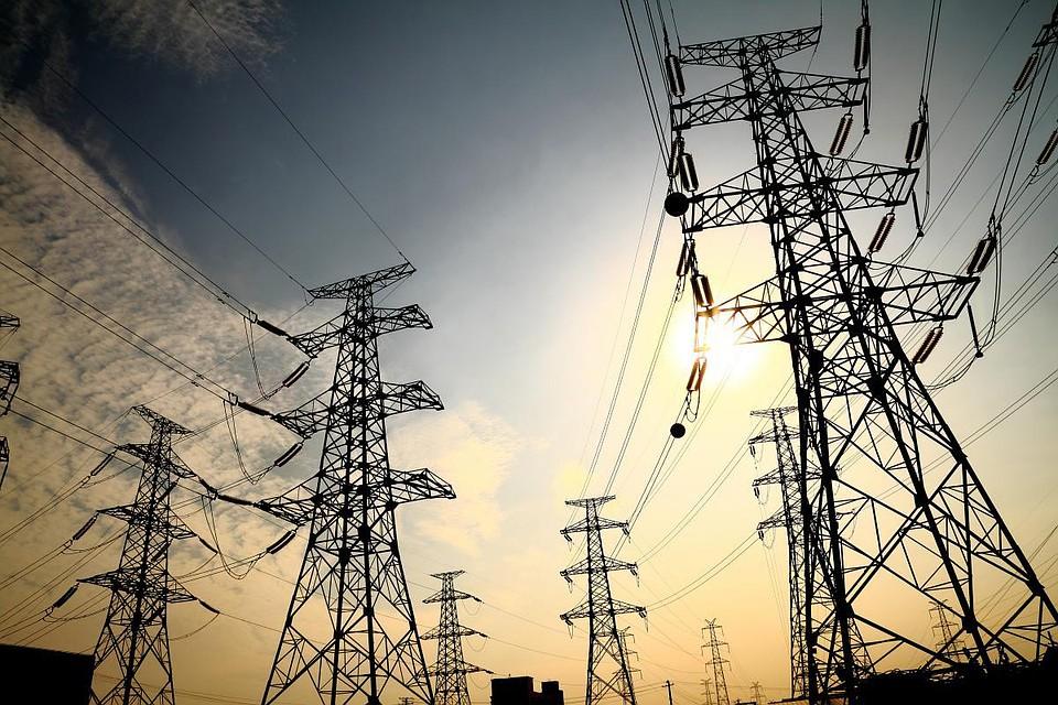 Электроэнергия высокольтная линия