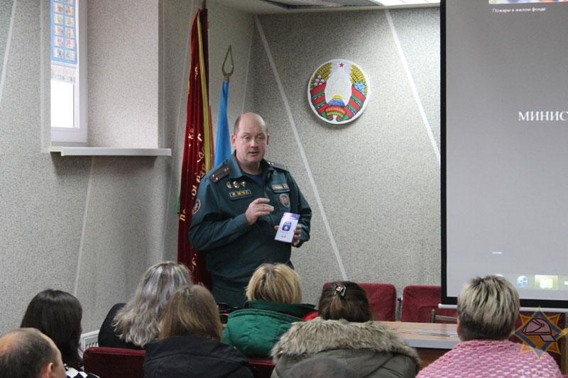 начальник Кобринского районного отдела по чрезвычайным ситуациям Валерий Субботко