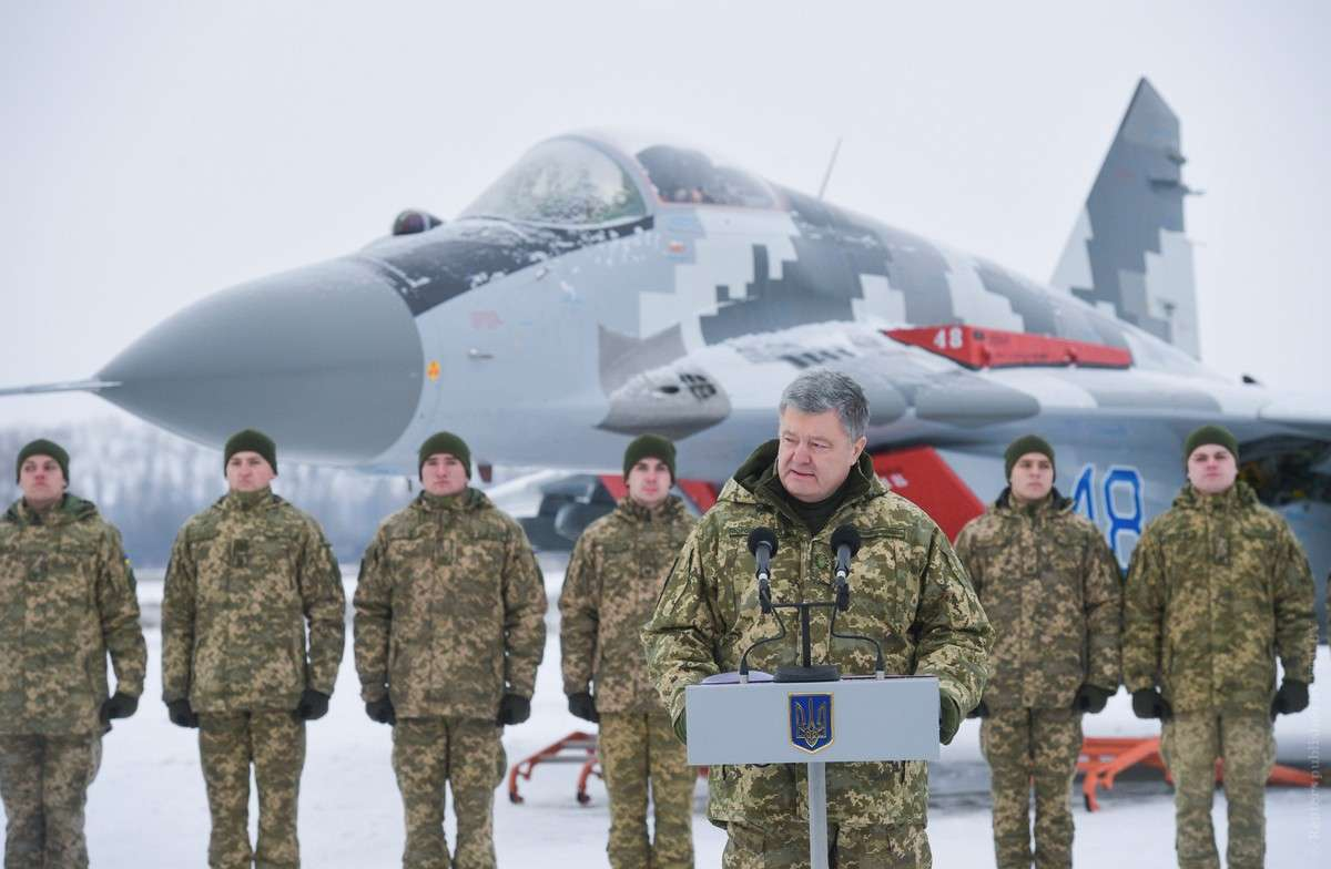 Украина проводит военные учения
