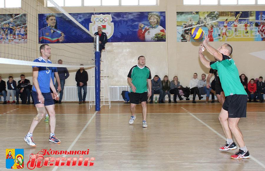 Чемпионат Кобринского района по волейболу