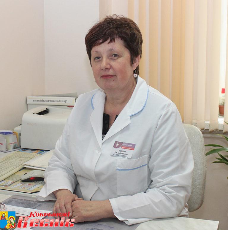 Ольга Зайцева на рабочем месте