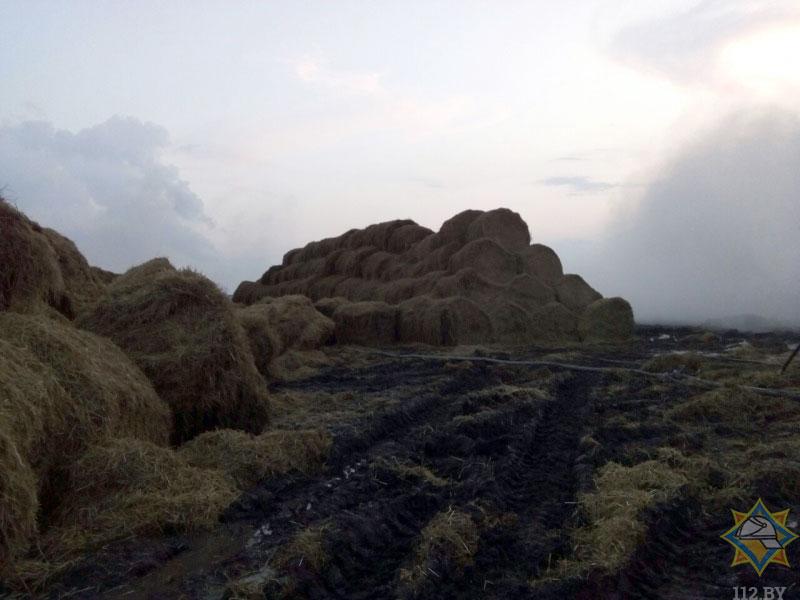 Пожар в Пески Кобринский район