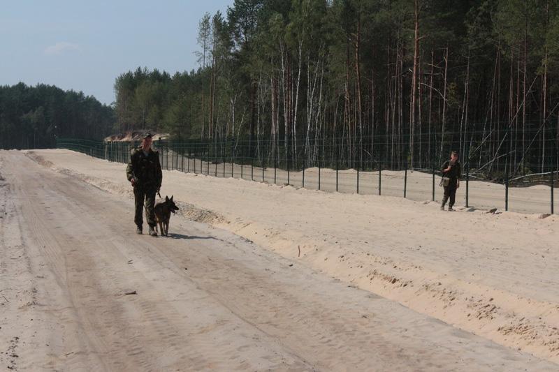 Дивин Украинская граница