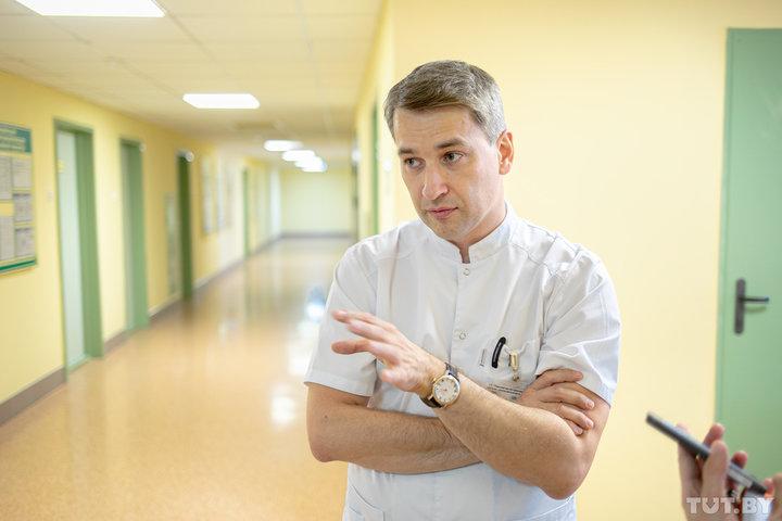 Трансплантолог Алексей Щерба руководил спасением мамы и ребенка в ту ночь