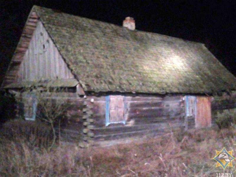 Пожар в д. Дивин Кобринского района