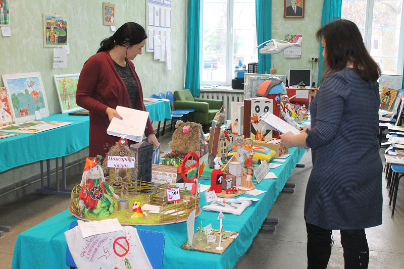 Итог конкурса детского творчества «Спасатели глазами детей» в Кобрине