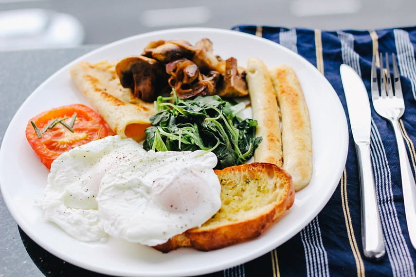 Завтрак, еда