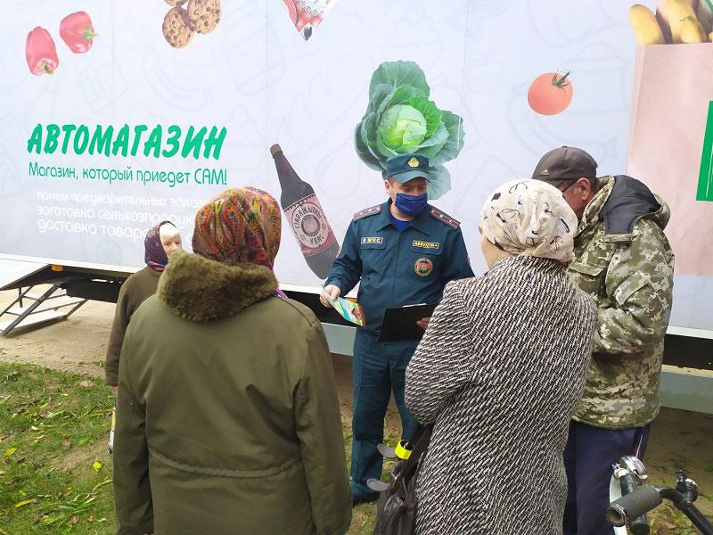 Маршрут безопасности в Кобринском районе