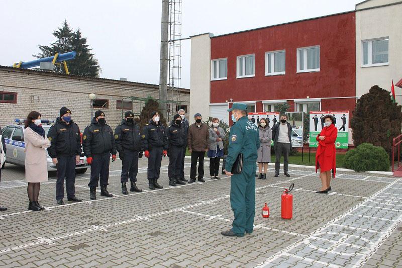 Кобринские пожарники