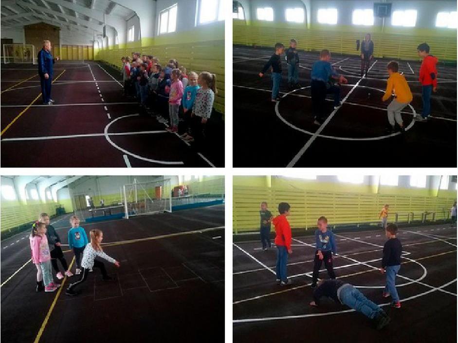 спортивный дистанционный проект «Олимпиада дворовых игр» в Кобрине