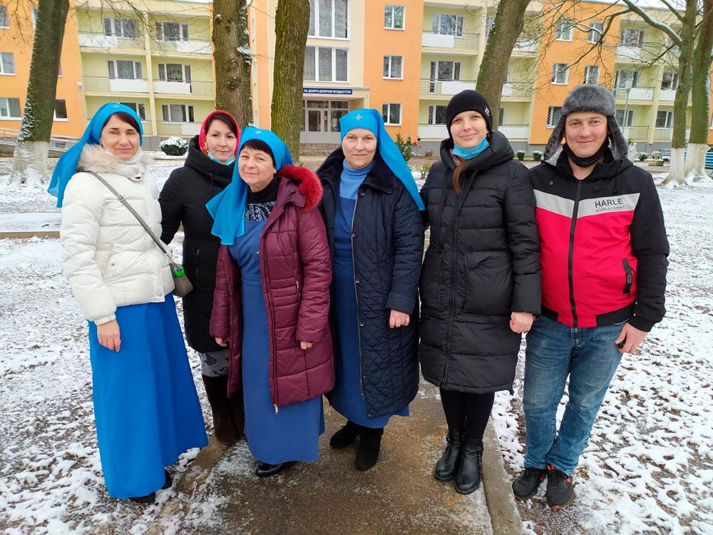 Сестры из кобринского монастыря